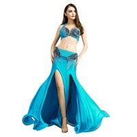 2019 Free Shipping New Arrival high quality sexy belly dance set/costume/belly dancing clothes/belly dance Bra&Belt&Skirt 8831