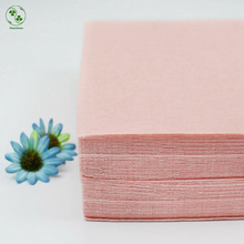 Solid Peach Pink Color Polyester Nonwoven Felts Pure Color Nonwoven Pack 30X30CM For Children Manual Work Fabric DIY Felt Craft