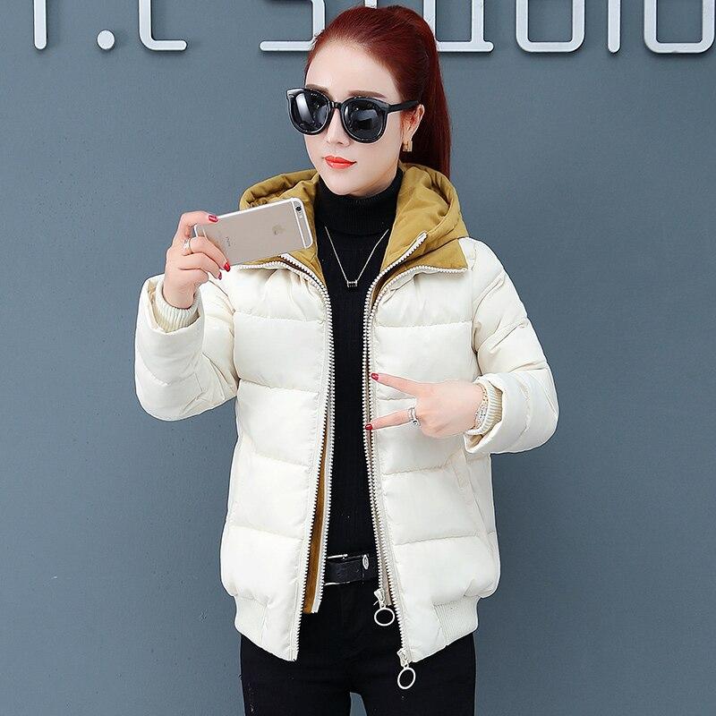 Coréenne Court Veste Version Près Nouvelle Bas blanc 2018 Avec Coupe rembourré Noir Femmes Coton Épais Coton Vers rouge Corps Du Le Lâche Hiver De 8A4r68