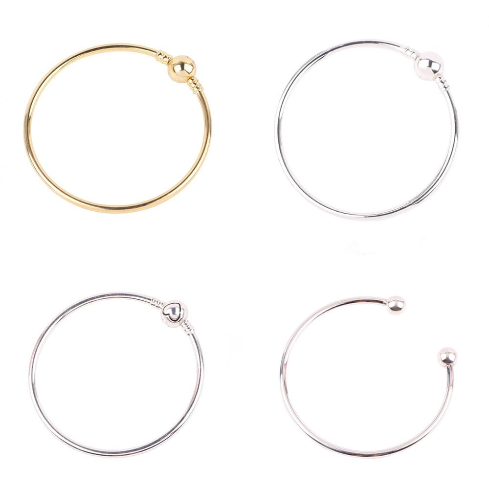 Couqcy Authentic DIY Charm Bracelet & Bangle DIY Fine Bracelet Jewelry Gift For Women European Fashion Glamour Jewelry