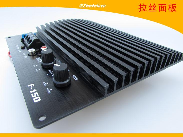 1200W high power active single road automobile power font b amplifier b font board can push