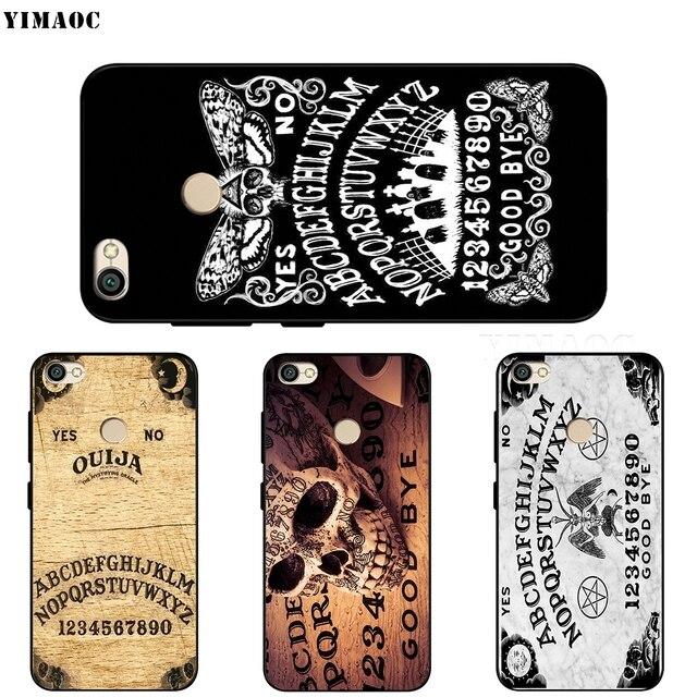 Ouija Board Case for Xiaomi Redmi MI Note MAX 3 6a 7 6 8 9 10 GO SE A1 A2 A3 Lite 8A F1 Pro