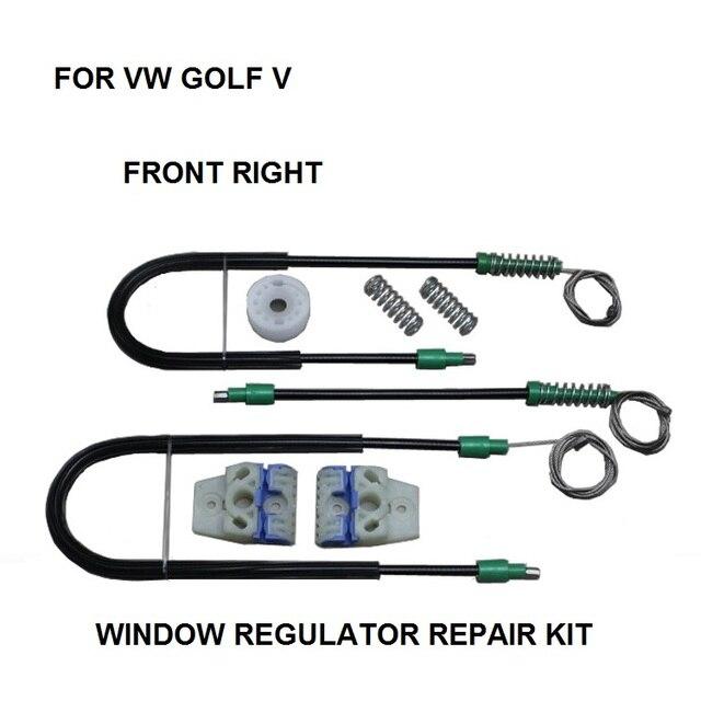 ELECTRIC WINDOW REGULATOR FOR VW GOLF V 4/5 DOOR FRONT-RIGHT 2013-2015