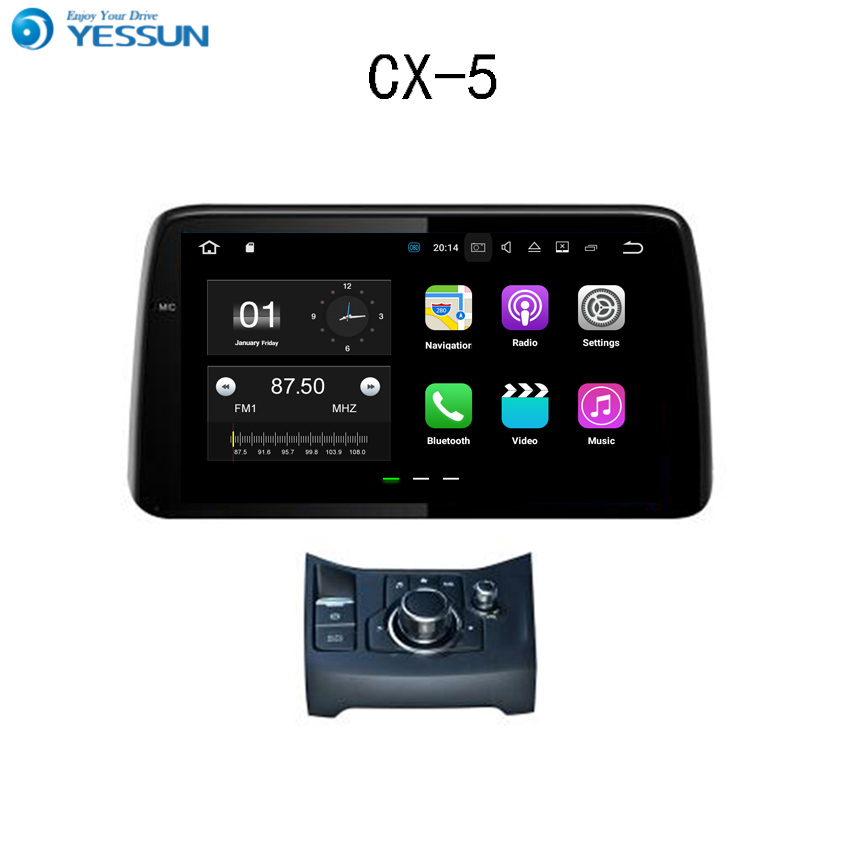 YESSUN For Mazda CX-5 2017~2018 Android Car Navigation GPS HD Touch Screen Audio Video Radio Stereo Multimedia Player No CD DVD