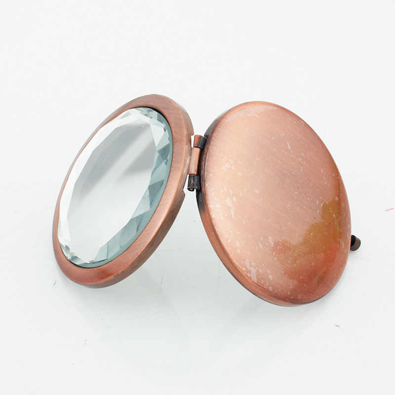 JWEIJIAO colorful city pocket mirror Famous paintings Printing picture makeup mirrors Mini  Folding  Round Mirrors PT52