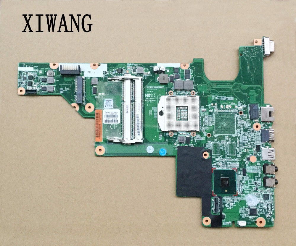 646669-001 for hp 631 Notebook for hp 430 for hp 630 laptop motherboard HM55 integrated DDR3 100% working nokotion 646669 001 laptop motherboard for hp 630 631 635 intel ddr3 mainboard full tested