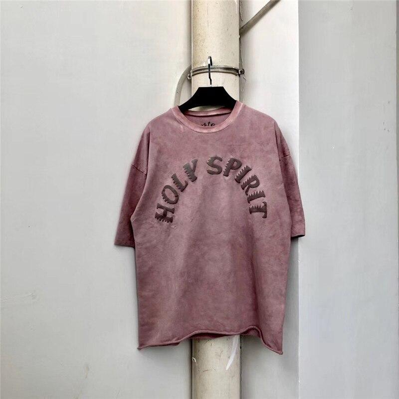 Hip-hop Kanye West Sunday Service Holy Spirit CPFM T Shirts Best Quality Men Women Casaul Top Tee Kanye West T-Shirts