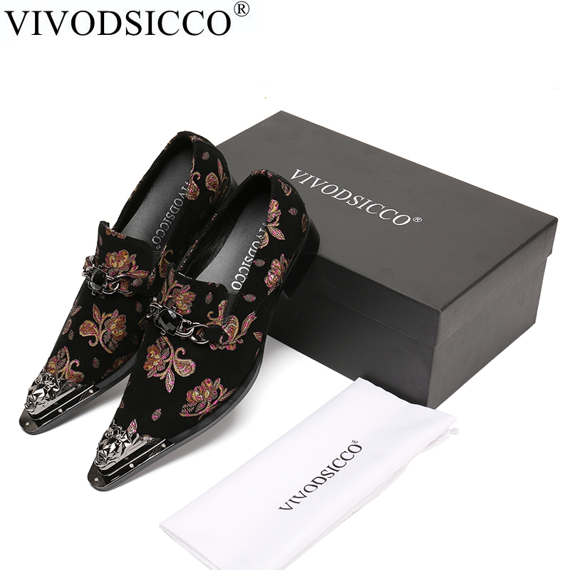 VIVODSICCO Men Oxfords Shoes Luxury Wedding Dress Italian Shoes Men Suede Leather Pointed Toe Party Formal Shoes Mocassin Homme goodster crocodile men leather shoes italian handmade men wedding shoes party banquet men oxfords