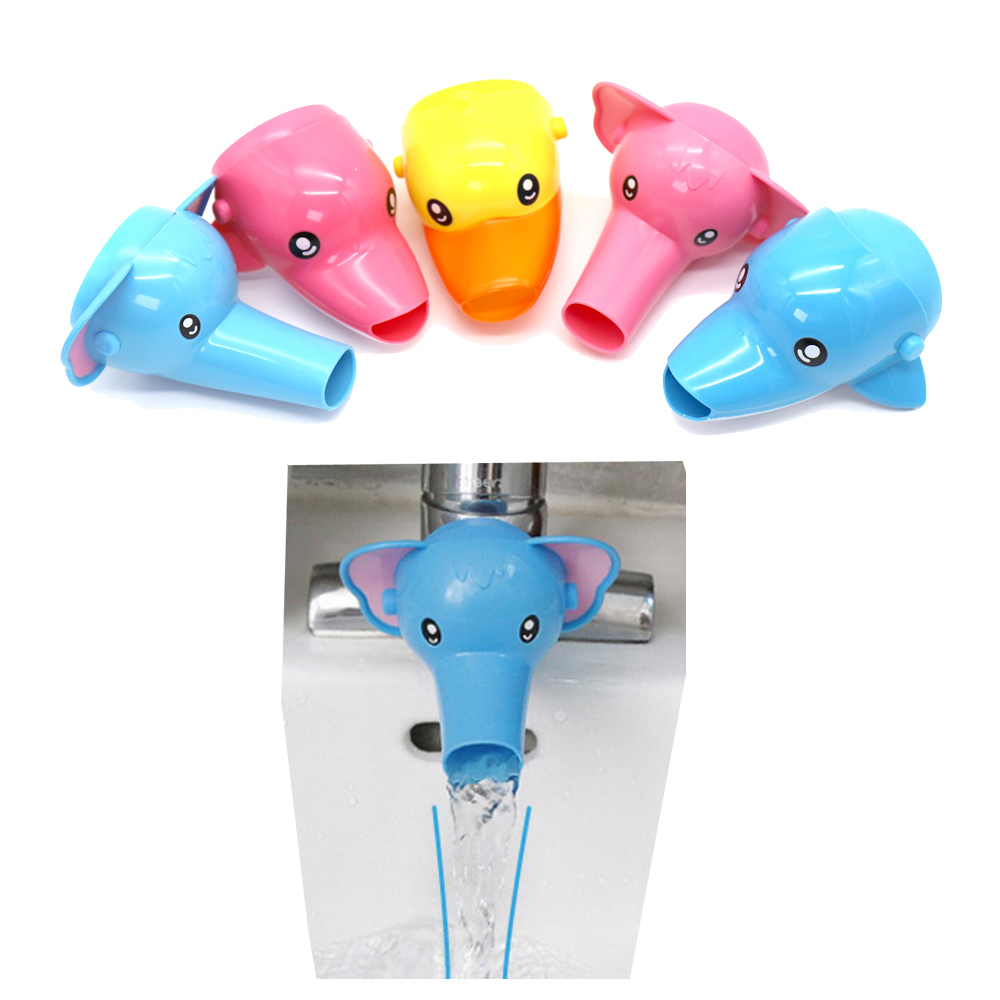 Cute Bathroom Sink Faucet Chute Extender Crab Children Kids Washing Hands Extension Faucet Kids Children Washing Hand Water Guid