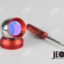 Светоотражающий шар со стальной поверхностью, магнитный 1,5 Дюймовый шар, с монтажным основанием, замена Leica Red Ring Reflector(RRR