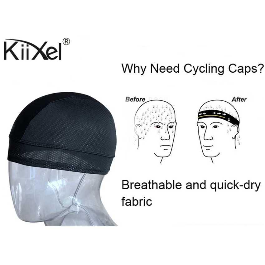 KiiXel mężczyźni kolarstwo na świeżym powietrzu czapka rowerowa czapka rowerowa oddychająca Mtb czapki de ciclismo bandana mężczyźni szybkie suche pałąk szalik na głowę