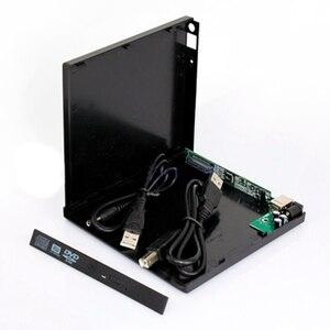 Внешний чехол для ноутбука USB к IDE CD DVD RW ROM