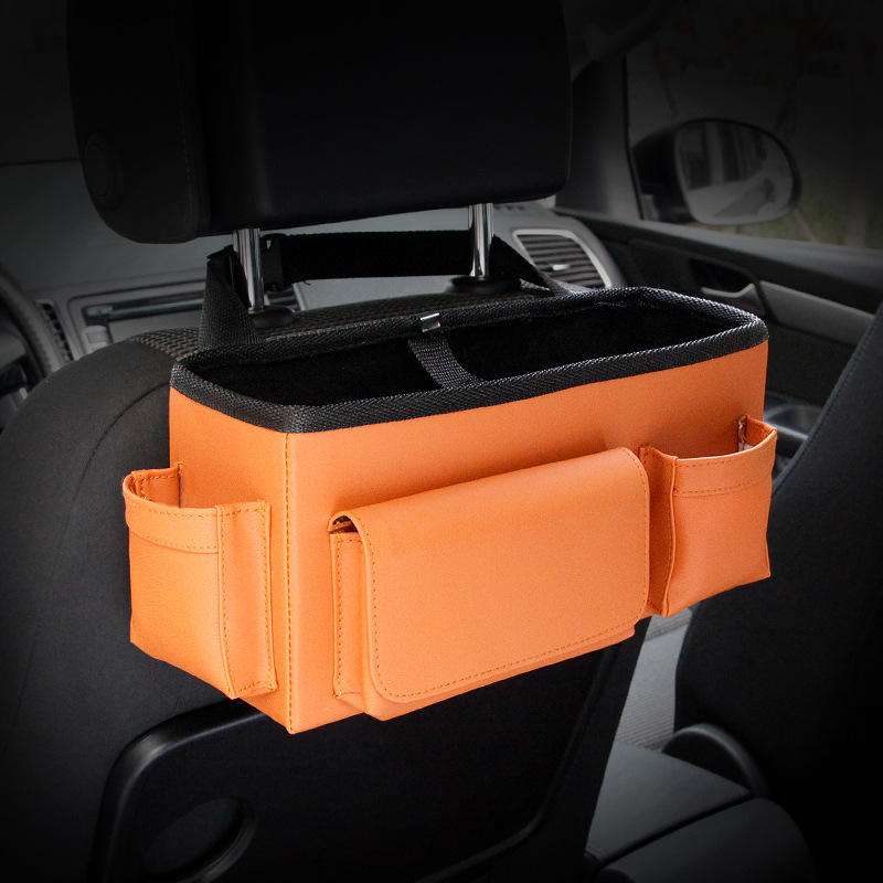 Auto achterbank Opvouwbare draagbare opbergbox Multi-Use Auto - Auto-interieur accessoires - Foto 4