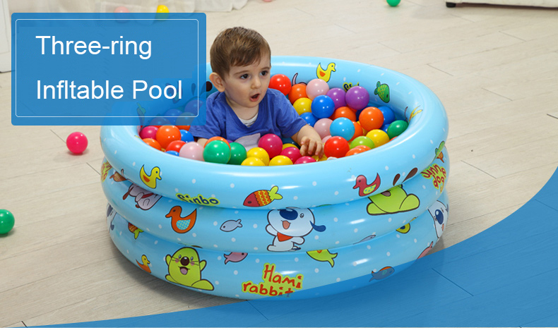New Arrival Baby Kid Round Swimming Pool Children Plastic Durable Swimming Pools Inflatable Piscina inflatable pool 100*35cm