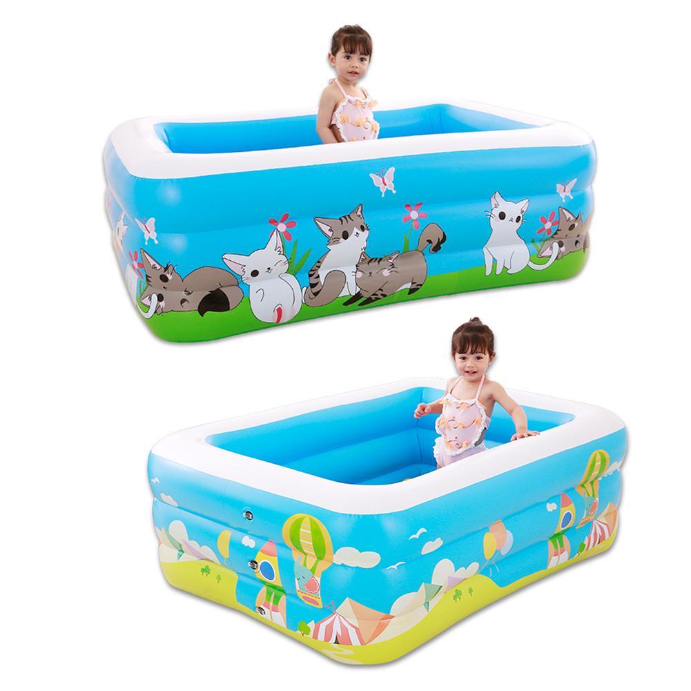 Gonflable bébé piscine grande taille famille Portable extérieur enfants bassin baignoire enfants piscine bébé piscine eau 4