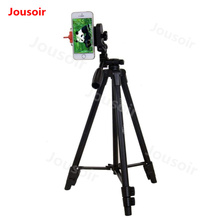 Yunteng 520 Clip Professional Tripod for Samsung iPhone HTC ZTE Cell Phone Digital Camera SLR and iPad Tablet PC+Clip CD05 T06