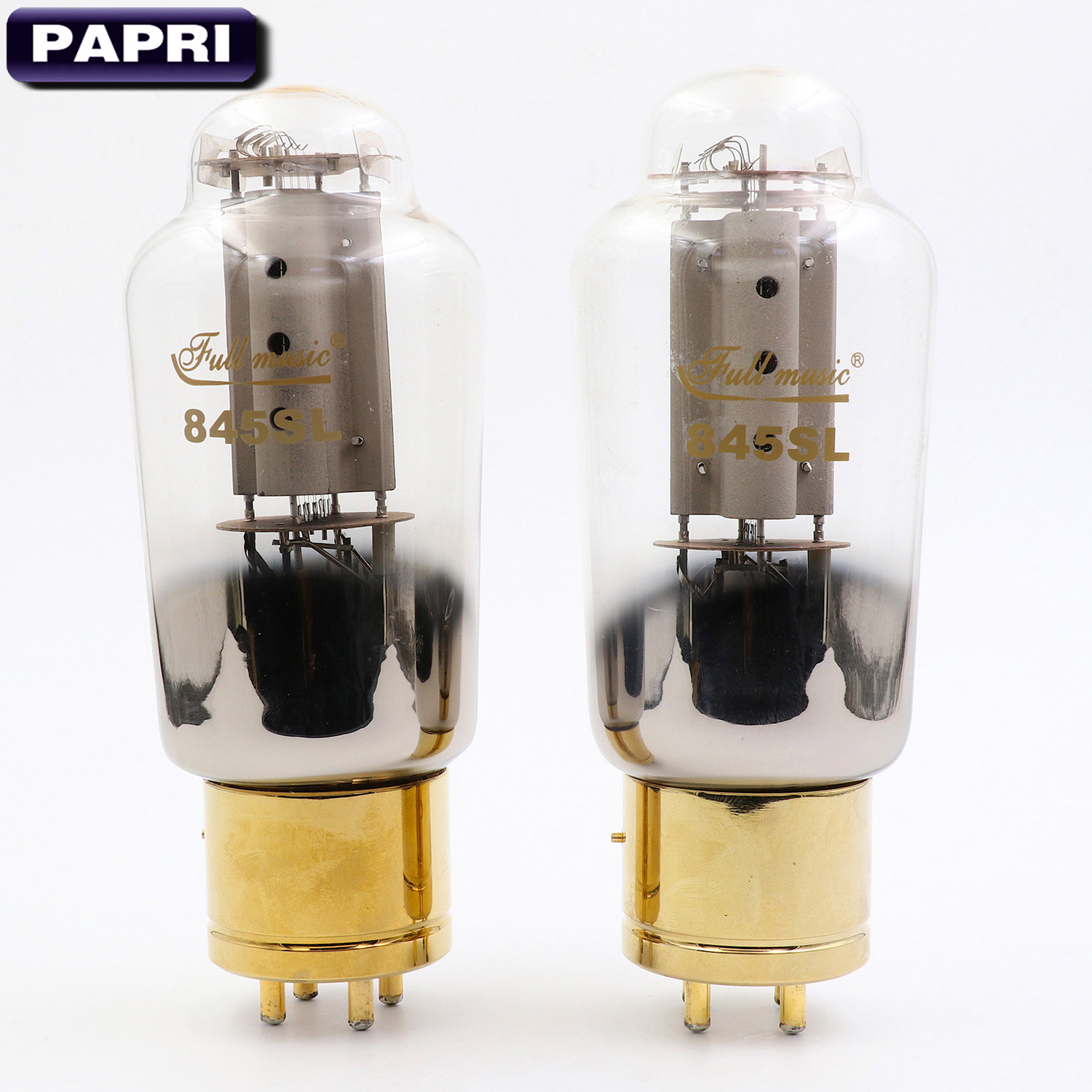 New TJ Fullmusic 845SL Vacuum Tube Vintage Replace 845 Tube For DIY HiFi Amplifier Audio Speaker 2PCS/Lot Test Matched Pair brand new matched pair quad tj fullmusic kt88 cne kt88cne vacuum power tube replace kt88 6550 hifi vintage tube audio amp diy