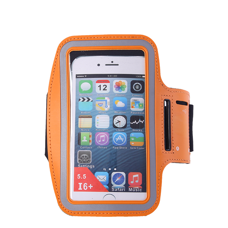 Arm Sports Bag for iPhone6 5.5 Waterproof Phone Bag for Outdoor Running Gym Phone Cover for iPhone 8 Plus Armband WX071