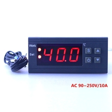 Intelligent Mini Temperature Controller Input 90 250V Output 10A 220V Thermostat with