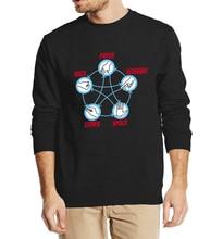 """Rock, Paper, Lizard, Scissors, Spock"" Sweater – 6 Colors"