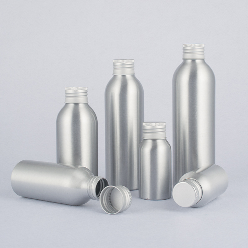 40-250ml Aluminum Bottle,Metal Bottle For Cosmetics,Special Bottle For Automobile Cleaner