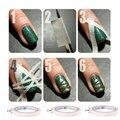 1 Шт. Nail Art Гель Для Ногтей Клейкая Лента Для DIY Ногтей Украшения Наклейки Ногтей Инструмент 1 2 3 мм ширина