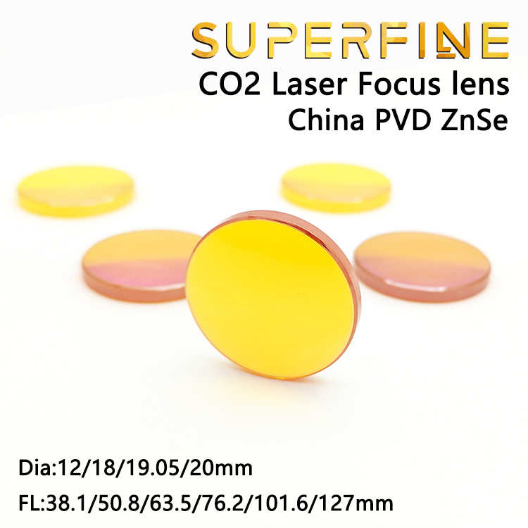 1.5//38.1mm SHINA New ZnSe Focal Lens for CO2 Laser Cutting Diam 20mm FL:1 1.5 2 2.5 3 4