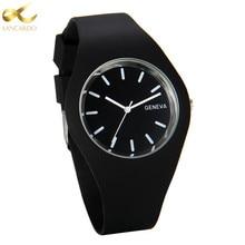 Lancardo Watches Women Luxury Brand Casual Quartz Wristwatch Sweet Jelly Silicone Strap Waterproof Lady Watch Montre Femme