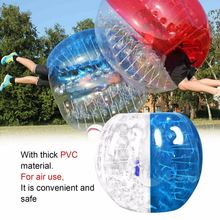 Популярные человеческие молоток толщины 0.8 mm Раздувной пузырь буфер шарики бампера Футбол шарик zorb для активного отдыха для взрослых работает