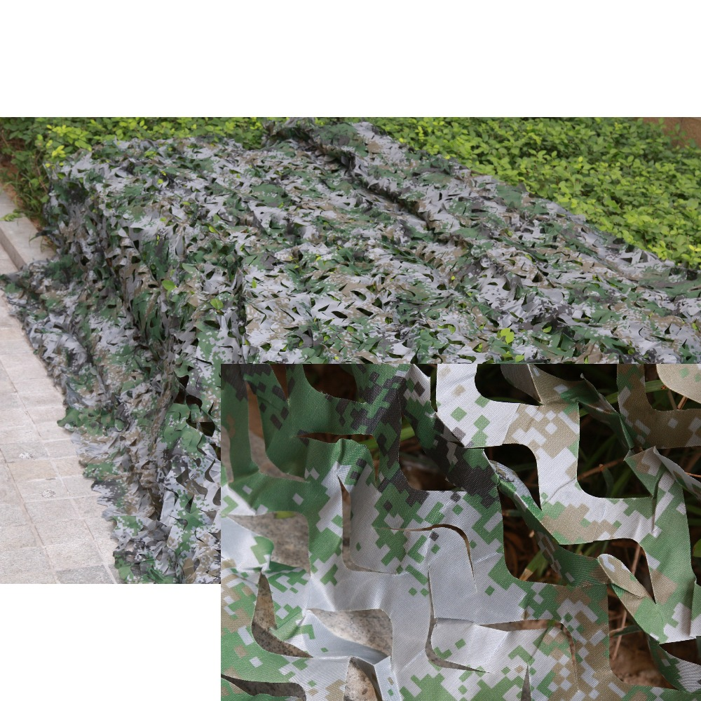 4*4M Military Filet Camouflage Net Hunting Blind Outdoor Bird Watching Decoration Camouflage Net Large 400cm Camo Net Camouflage цена 2017