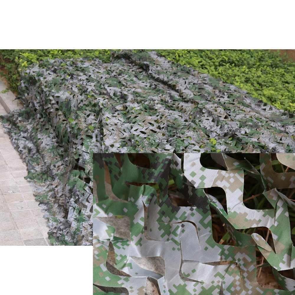 4*4M Military Filet Camouflage Net Hunting Blind Outdoor Bird Watching Decoration Camouflage Net Large 400cm Camo Net Camouflage