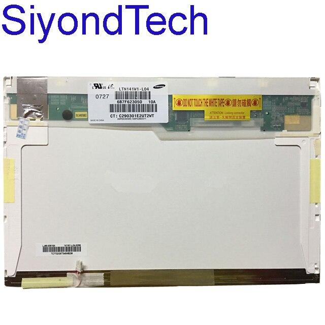 Grade A+ Laptop LCD Screen Matrix LTN141AT13 N141I3-L02 LTN141W1-L05/L04 HT141WXB-100 For IBM T60P T61P T400 T500 T410 T420