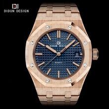 Didun мужские часы лучший бренд класса люкс часы мужчины стали кварцевые наручные часы мужчины бизнес часы светящиеся наручные часы воды сопротивление