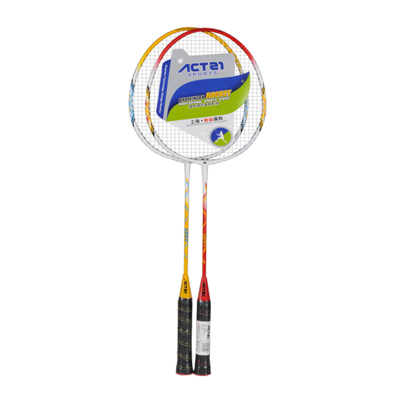 ACTEI Classic Ferroalloy Badminton Racket Men And Women Badminton Mixed Doubles Fitness