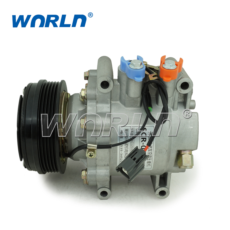 Air-conditioning Installation Friendly Auto Ac Compressor Trsa09 5pk For Honda Jazz Ii/fit 1.4/for Civic 38800-rea-z013 38810pwa006 38800pcma02 38800p14006 36203 36203 Automobiles & Motorcycles