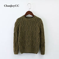 Brand ChanJoyCC New Design Children S Sweater Winter Knitted Cardigan Outerwear Warm Soft Cotton Clothing For