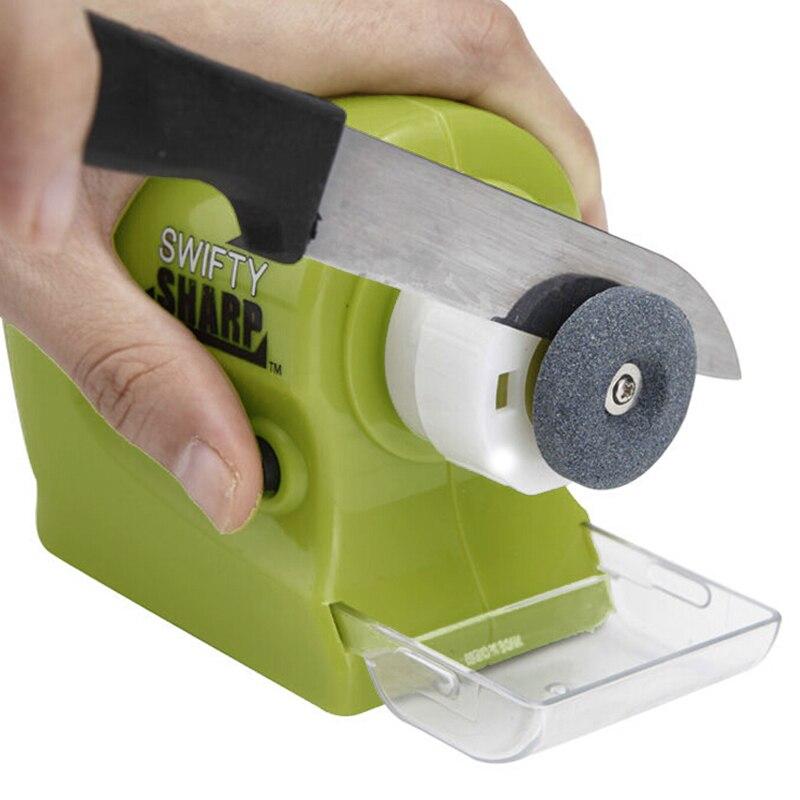 Professionelle Elektrische Messer Spitzer Swifty Sharp Motorisierte Messer Spitzer Rotierenden Schärfen Stein Schärfen Werkzeug