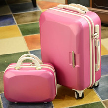 2016 New Hot sales One set Trolley case suitcase set/travell case luggage/Pull Rod trunk rolling spinner wheels/PC boarding bag