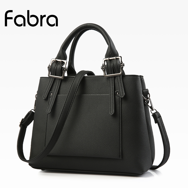 Fabra Fashion Designer Women Handbag Female PU Leather Women Messenger Bags Handbags Small Portable Shoulder Bag Casual Totes luxury genuine leather bag fashion brand designer women handbag cowhide leather shoulder composite bag casual totes