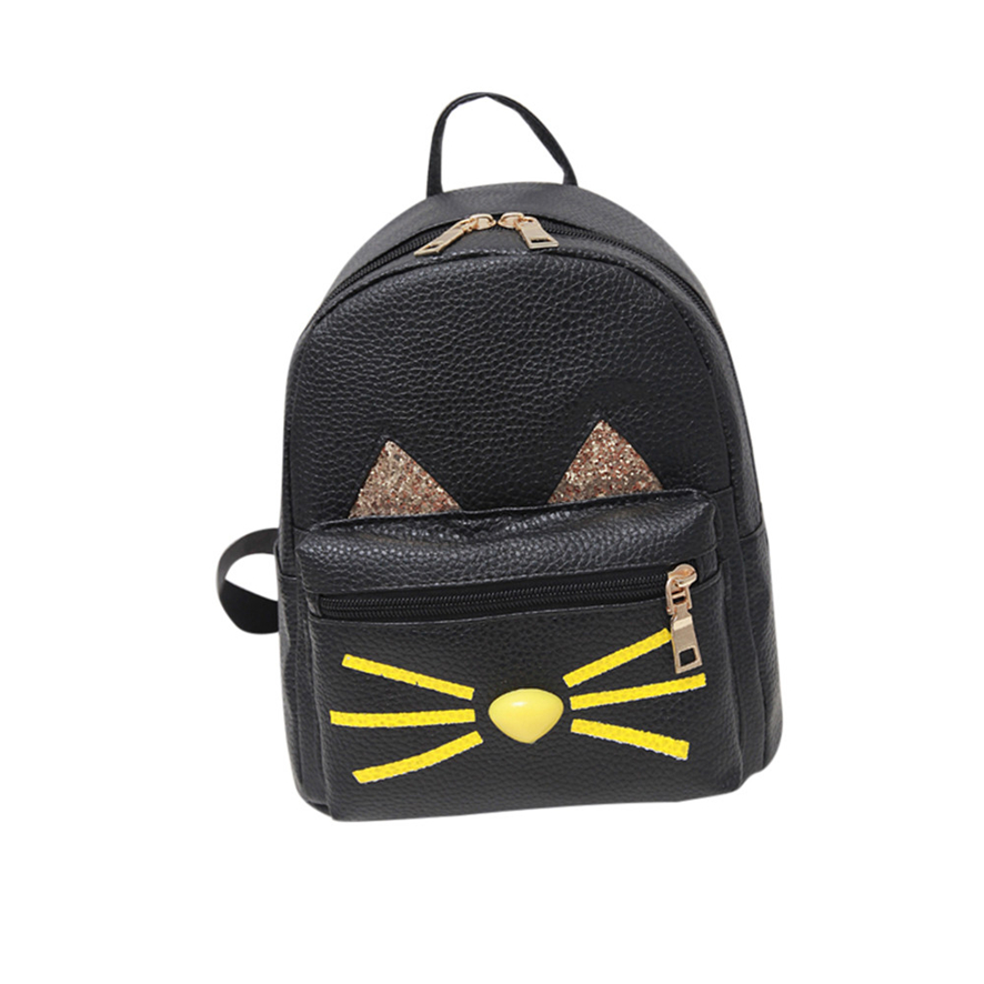 Mini Women Backpacks Leather Fashion Preppy Style School Bag Small Backpack for Girls Leather Bagpack Mochila Feminina School