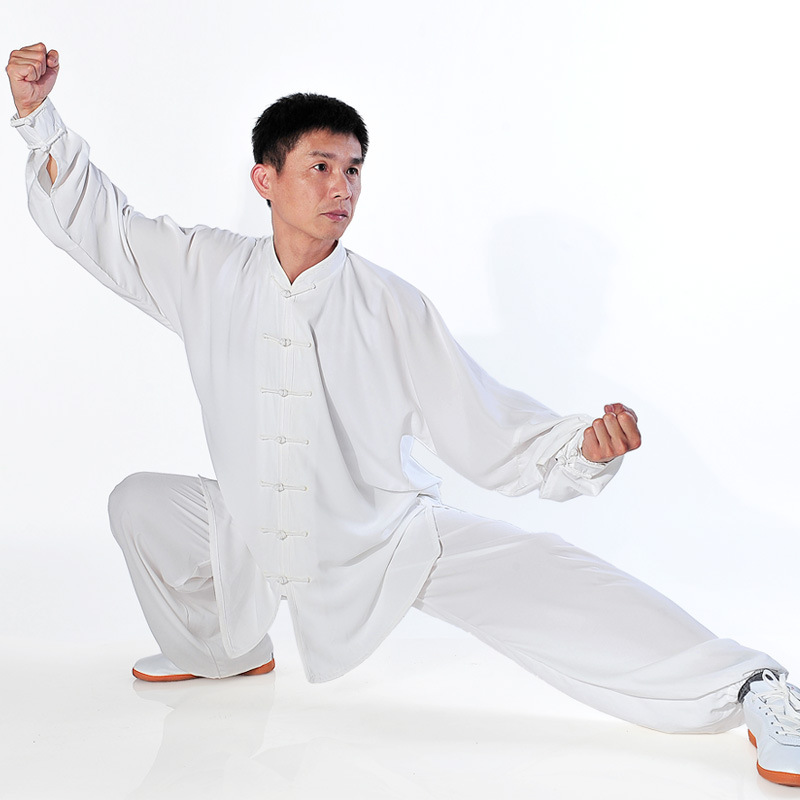 цена High Quality Lightcotton Tai chi clothing men women Wing chun Uniform Martial arts Suit Wushu Kung fu Clothes free shipping онлайн в 2017 году
