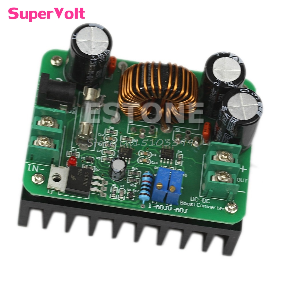600W <font><b>DC</b></font> 10V-60V to 12V 24V 36V 48V 80V 10A Converter <font><b>Step</b></font>-<font><b>up</b></font> Module Power Supply G08 Whosale&DropShip image