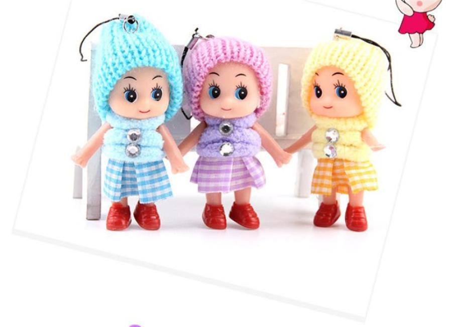 Kids Toys Soft Interactive Baby Dolls Toy Mini Doll For Girls Boys Xmas