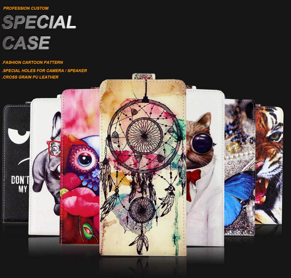 SONCASE case for LG Tribute Empire, Flip back phone case 100% Special Lovely Cool cartoon pu leather case Cover