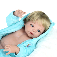 NPKDOLL Baby Reborn 55cm Lifelike Full Body Silicone Reborn Doll for girls Realistic Baby Doll Toys For Christmas COLLECTION