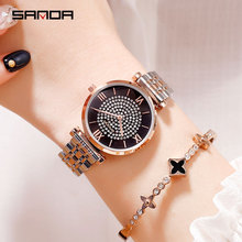 women watches waterproof sales hot 2019 luxury brand wrist stainless steel female watch free shiping dropshipping new