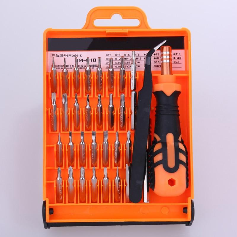 32 dans 1 Précise Manuel Outils Ensemble Démonter Tournevis pour Ordinateur Portable Téléphone Ouverture Outil De Réparation Kit ferramentas