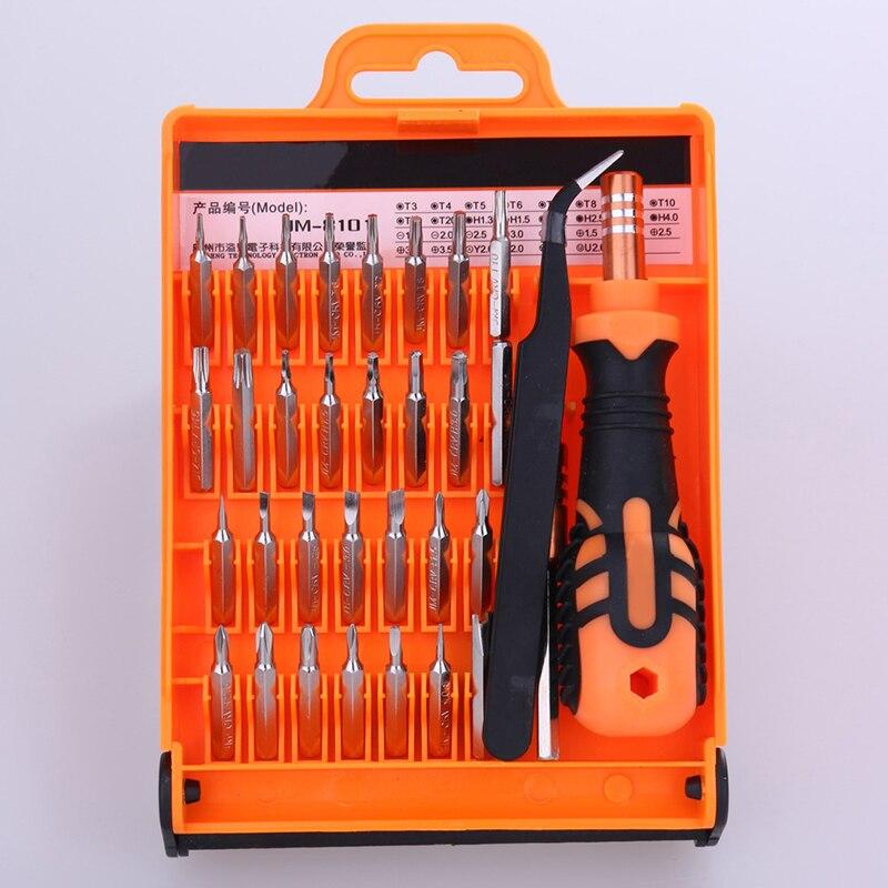 32 in 1 Präzise Manuelle Werkzeuge Set Zerlegen Schraubendreher für Laptop Telefon Eröffnung Repair Tool Kit