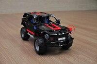 3341 Cruiser Land modèle Blocs de construction briques diy kits SUV jouets voiture Hummer 8081 compatiable legoes technique cadeau enfant garçon bricolage voiture