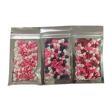 20 グラムハート食用真珠調理ツールフォンダンdiyケーキベーキングシリコーンチョコレート装飾砂糖菓子diy diy